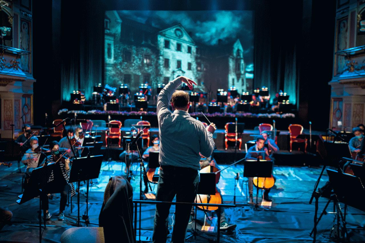 widownia w operze